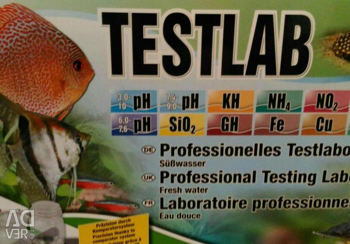Testarea acvariului de apă dulce