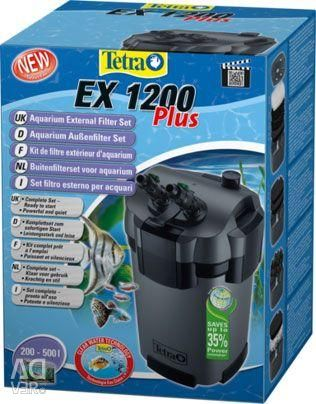 External filter for the Tetra 1200 aquarium