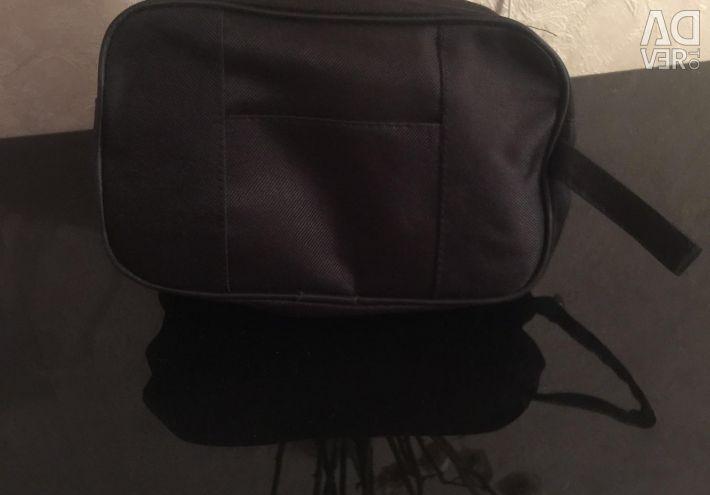 Καλλυντικά τσάντα του ανθρώπου