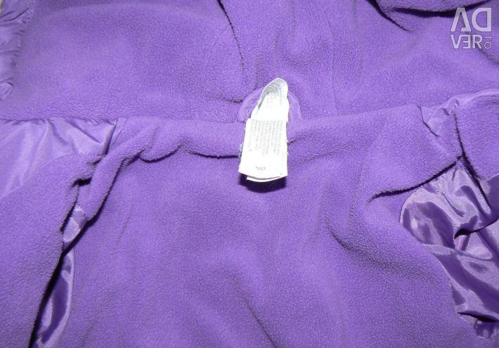 Bir polar disney üzerinde ceket + kot