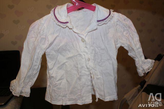 Imbrăcămintea pentru copii Sarafan + tricou 86