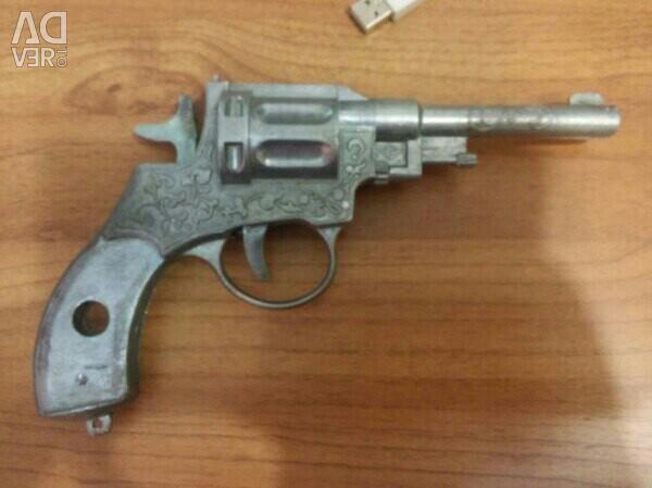 Пистолет игрушечный алюминиевый времeн СССР