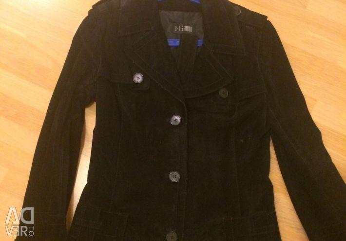 Women's jacket suede