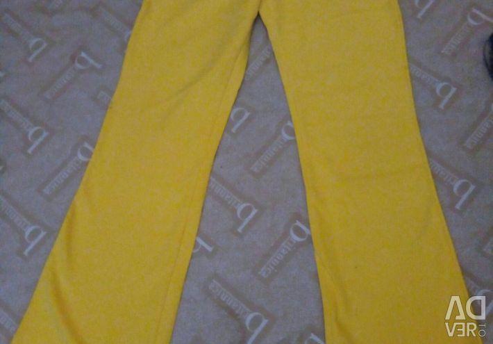 Pantaloni de bumbac pentru femei