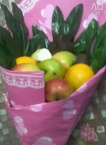 Bouquets of fruits