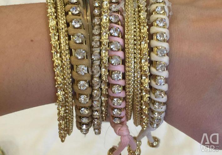 Продам новые браслеты , производство Бразилия