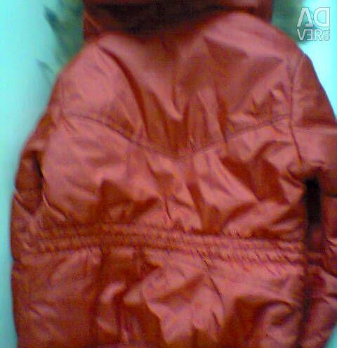 Κόκκινο σακάκι 146 φορές. Κορίτσι άνοιξη-φθινόπωρο