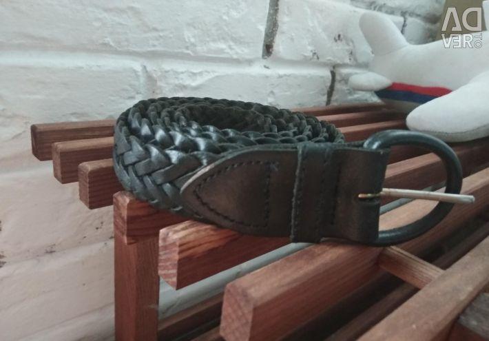 Leather belt nat