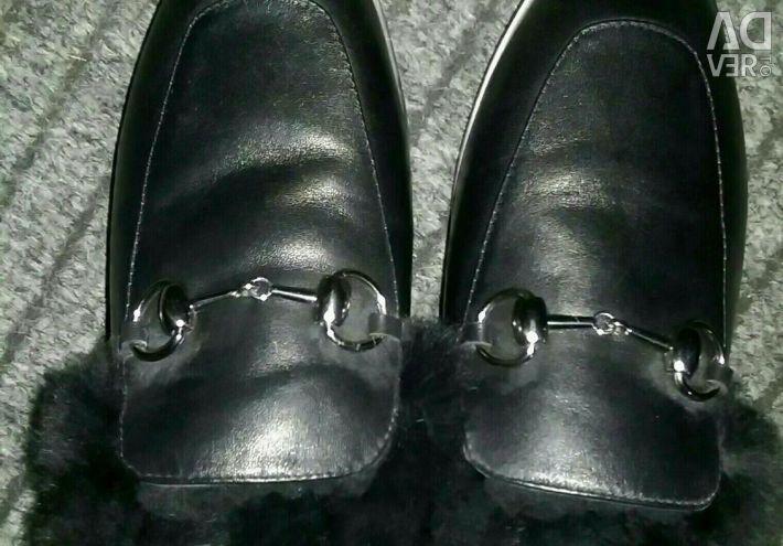 Μπότες, μπότες - γυναικεία χειροποίητα χειμώνα 36 rr