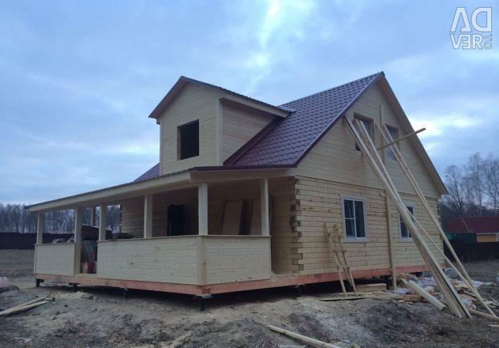 Country house projects (two-story).