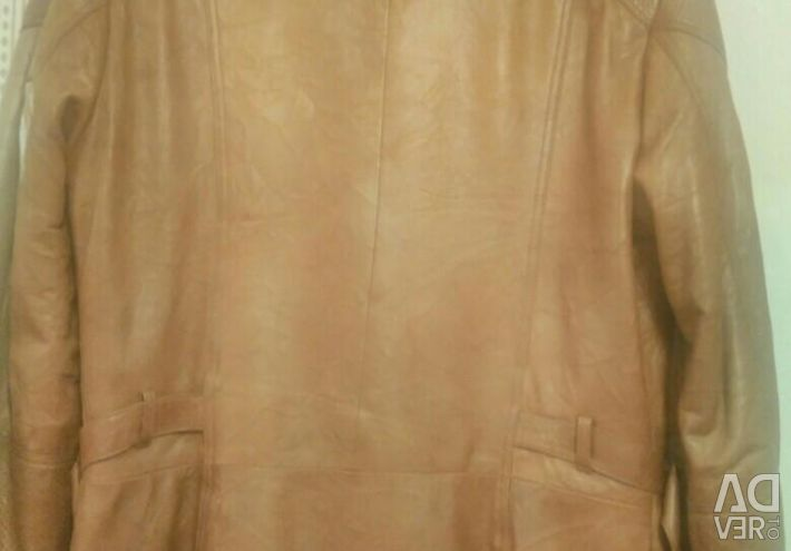 Шкіряна куртка.
