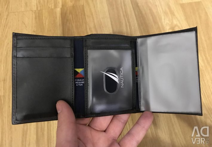 I will sell a wallet of man's firm Nautica