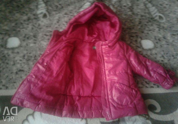 Курточка для дівчинки 74 р