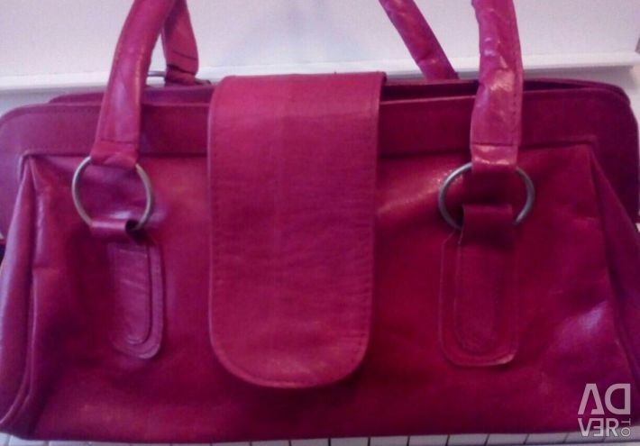New bag, genuine leather