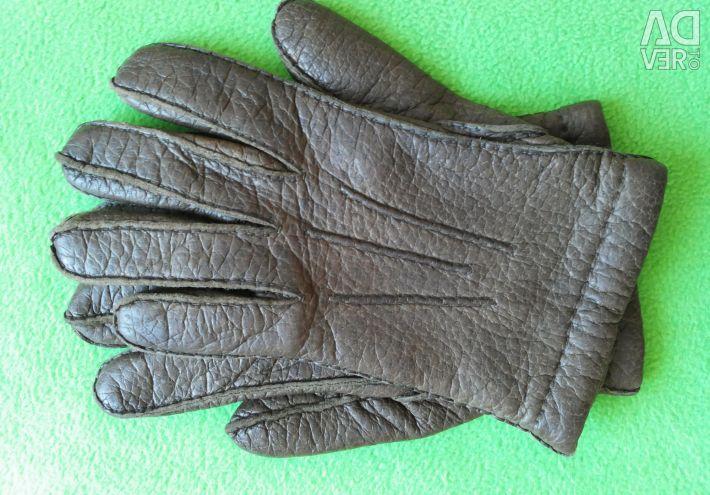 Перчатки мужские кожаные Германия