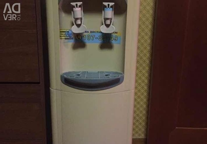 Second-hand water cooler in working order two taps