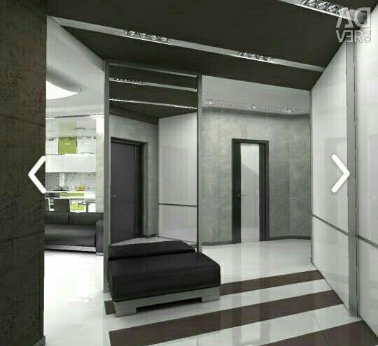 Apartament, 2 camere, 75 m²