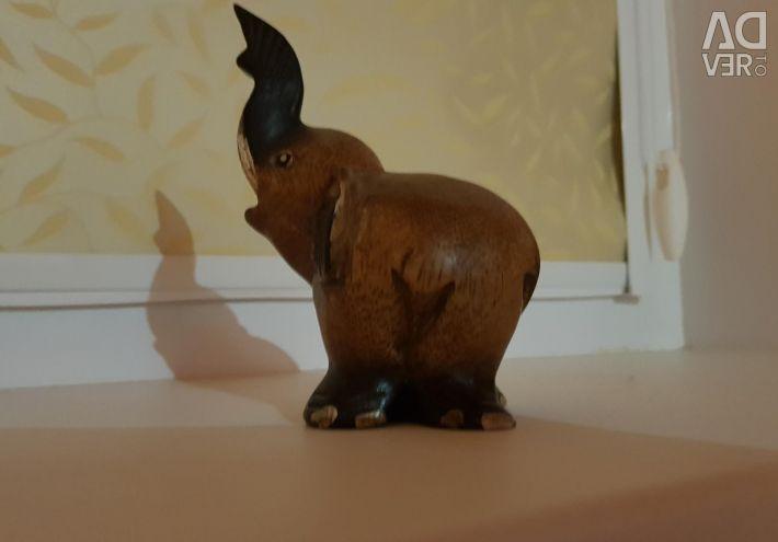 An elephant figurine