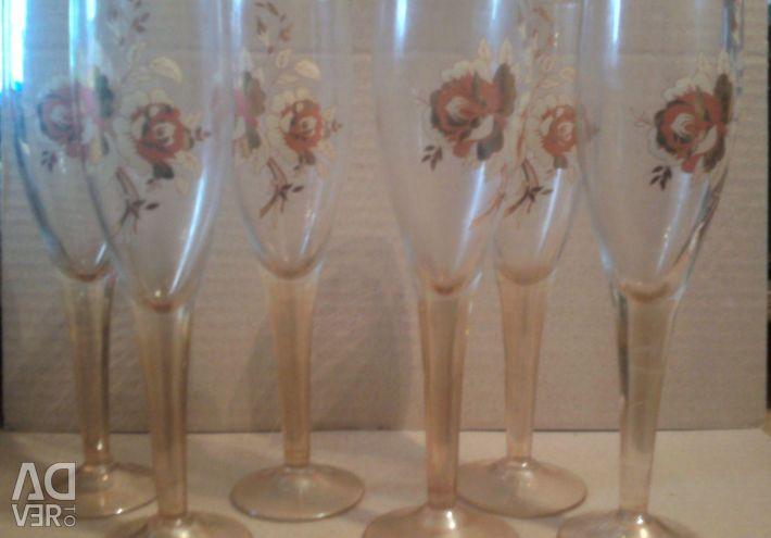Set of glasses 6 pcs
