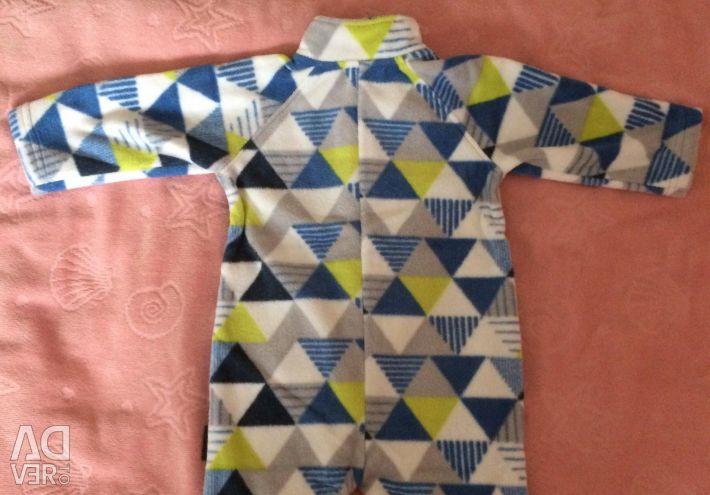 New fleece jumpsuit