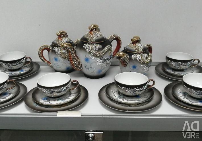Tea service for 6 people kutani
