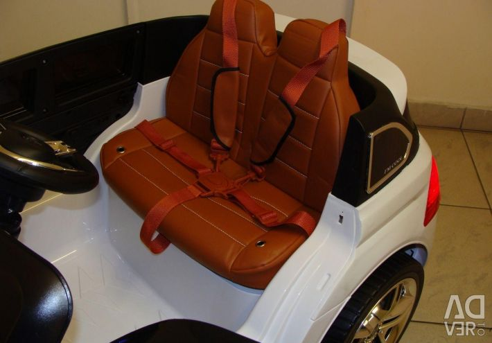 Children's electric car Mercedes GLE Brabus White