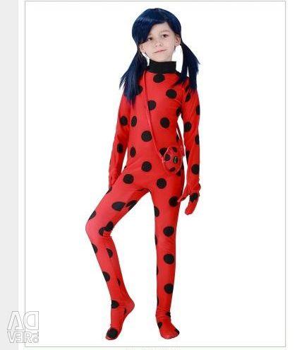 Costum pentru copii Ladybag, Ladybug
