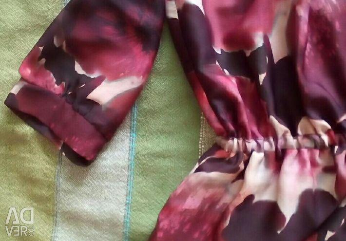 Tunik - lastikli bluz