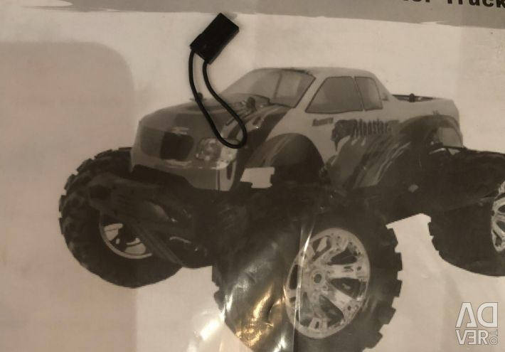 Radio-controlled ACME Barbarian A2021T car