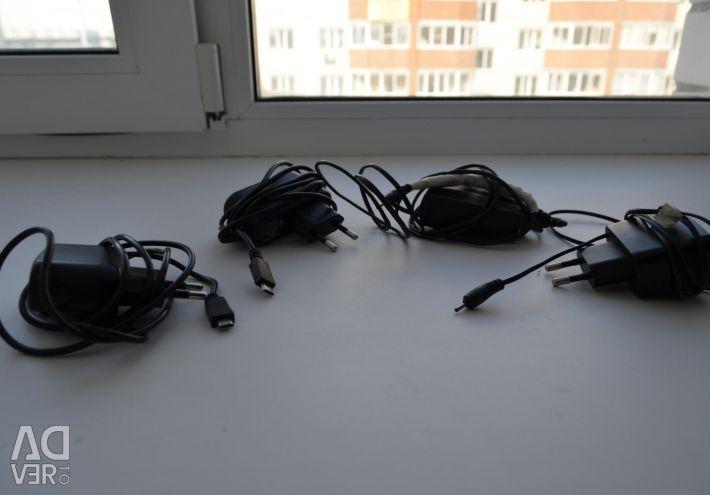 Зарядки и шнуры для нокиа