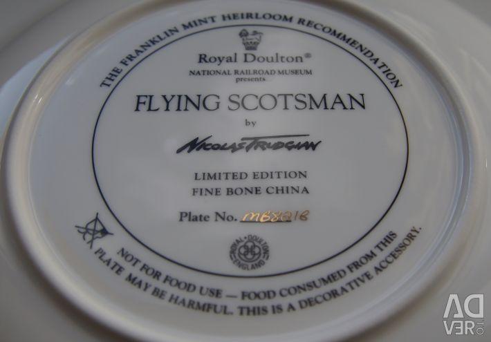 Flying Scotsman Anglia Colecția de plăci