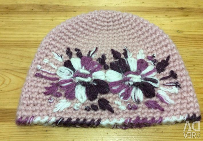 Wonderful hat on a girl, size 53-56, art 217