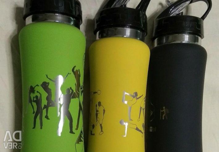 ΝΕΟ Αθλητικό μπουκάλι με χαρακτική