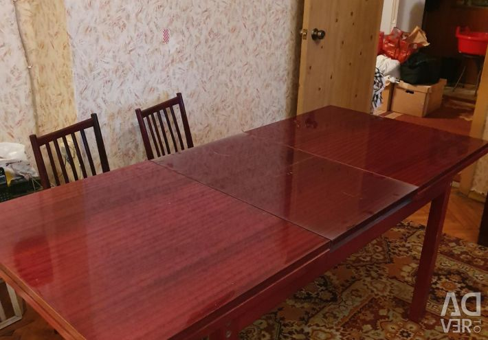 Dining set (table and 6 chairs)