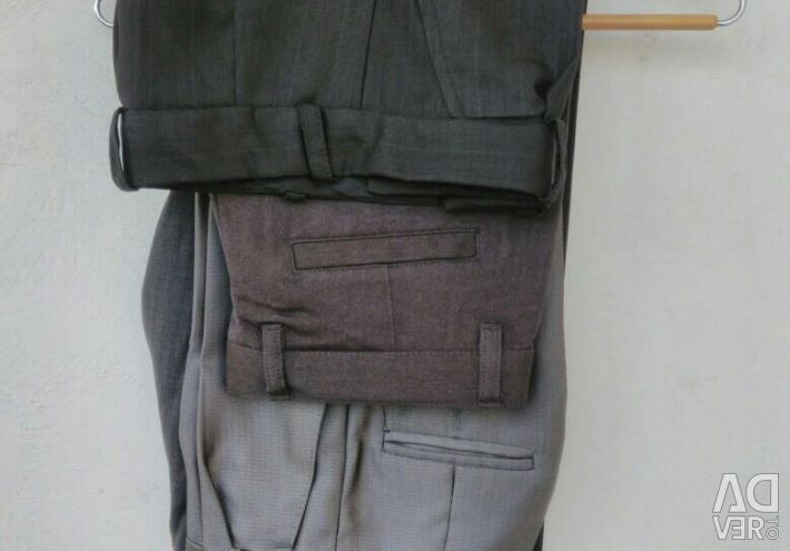 Trousers for a schoolboy from 1 to 7 class. The sizes are different.