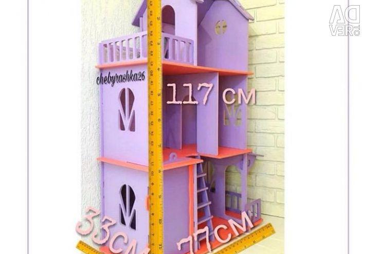 Dollhouse, handmade