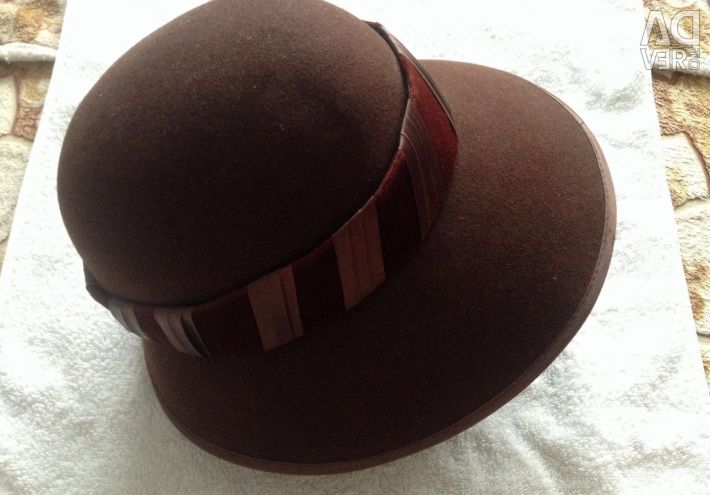 The hat is new and in the profile a lot