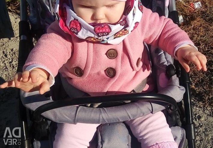 Κομψό παλτό δίπλα στο μωρό + φόρεμα από το προφίλ