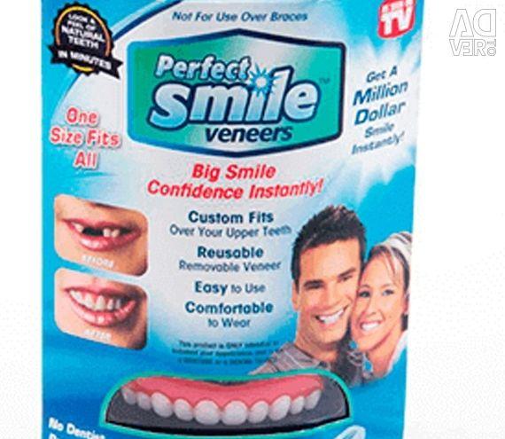 Kaplamalar mükemmel gülümseme kaplamaları