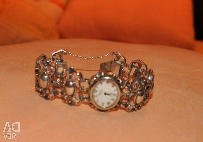 Silver vintage watch Bijoux Philipp