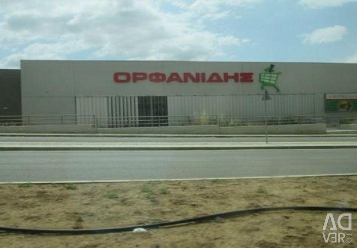 Lefkoşa'daki Kaimakli'deki süpermarket
