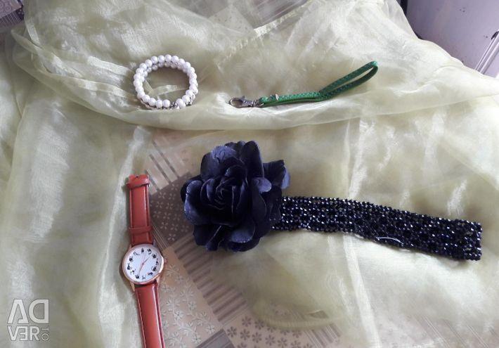 Watch and bracelet