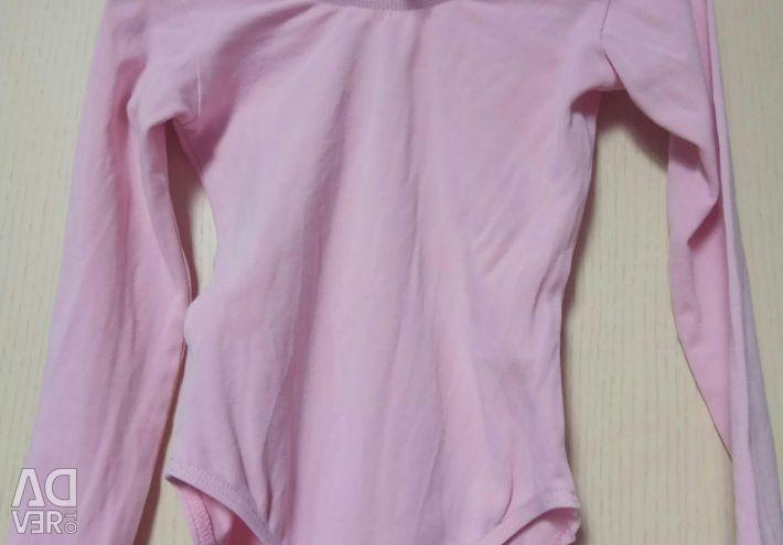 Tutu skirt. Leotard gymnastic growth 116