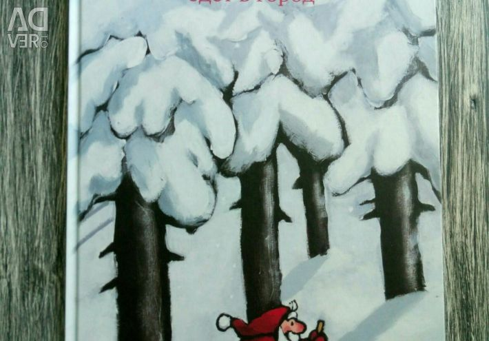 """New book """"Little Santa Claus goes to the city"""""""