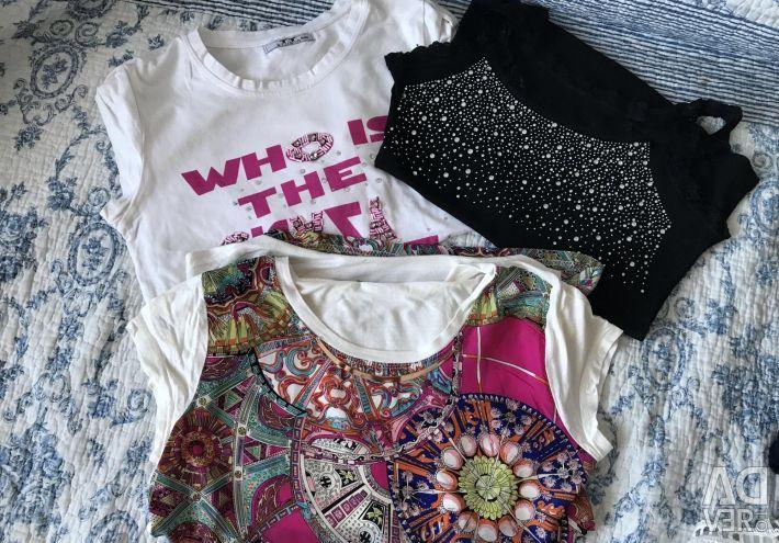 3 tişört (paket)