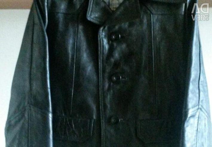 Куртка кожанка. Монголия.