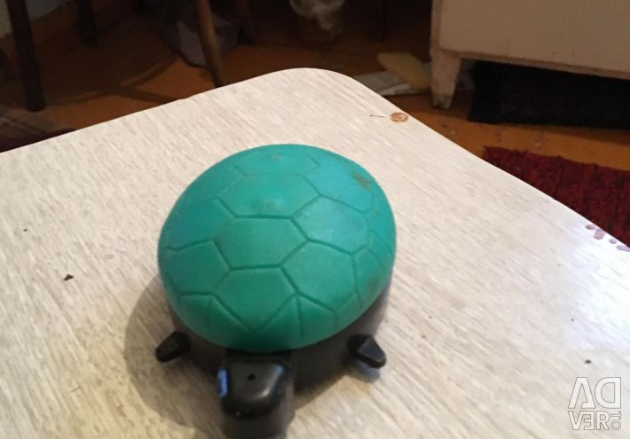 Turtle on wheels of the USSR