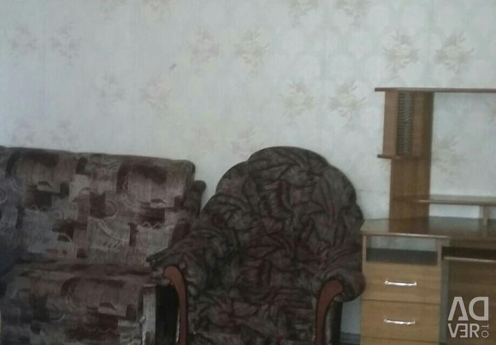 Apartment, 1 room, from 30 to 50 m²