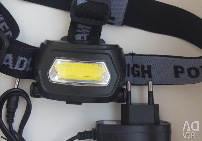 Налобный аккум. LED фонарь Sh-657
