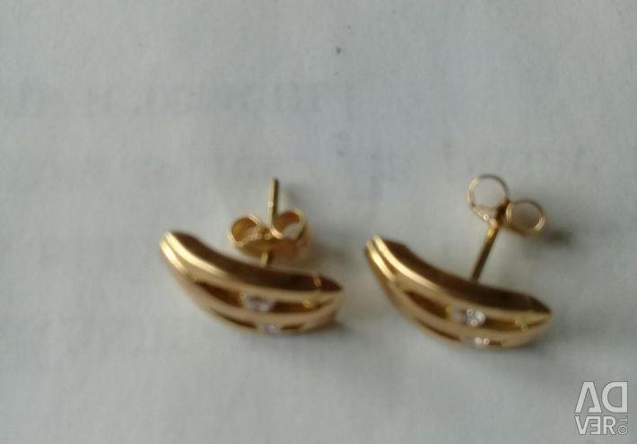 Carnation earrings 750pr.